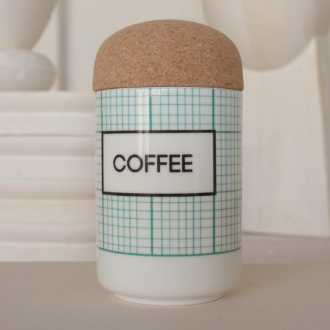 square COFFEE Storage Jar