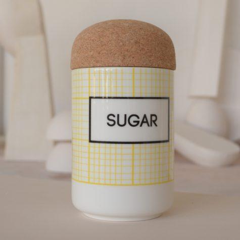 square SUGAR Storage Jar