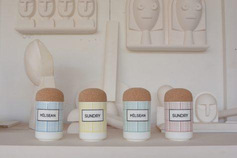 Milsean and Sundry Storage Jars